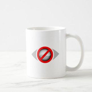 視野の限られたグラフィック コーヒーマグカップ
