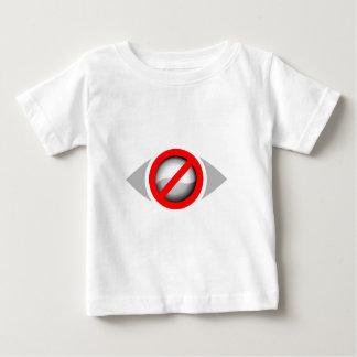 視野の限られたグラフィック ベビーTシャツ
