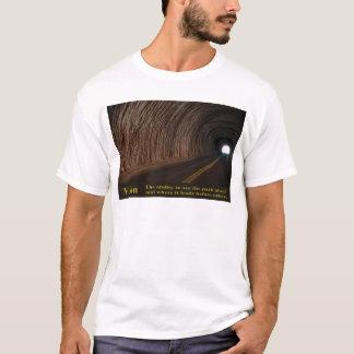 視野-前方の道を見る力 Tシャツ