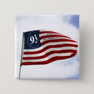 覚えて下さい9/11 -飛行93 缶バッジ