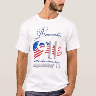 覚えて下さい9/11 - 9月11日-第10記念日 Tシャツ