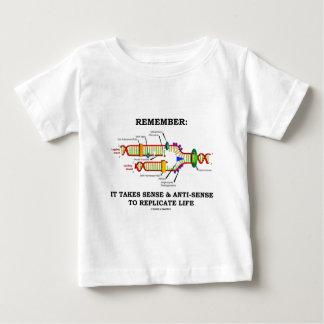 覚えて下さい: それは複製する感覚のアンチ感覚を取ります ベビーTシャツ