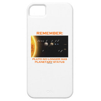 覚えて下さい: プルートにもはや惑星の状態があります iPhone SE/5/5s ケース