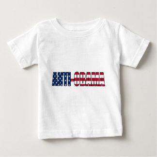 親アメリカアンチオバマ ベビーTシャツ