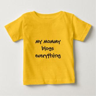親ブロガーの服装 ベビーTシャツ