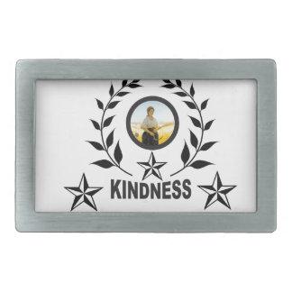 親切さのための別の円形 長方形ベルトバックル