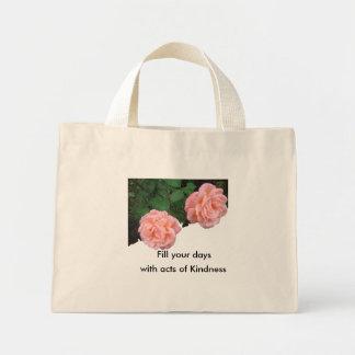 親切さのバッグの行為であなたの日を満たして下さい ミニトートバッグ