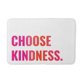 親切さの日没のピンクまたは蜜柑のバス・マットを選んで下さい バスマット