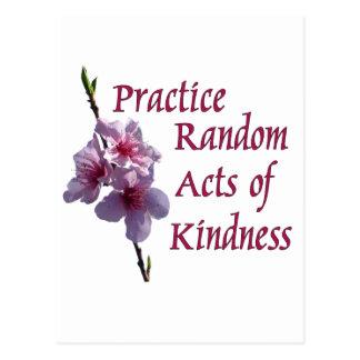 親切さの練習の偶然の事故 ポストカード