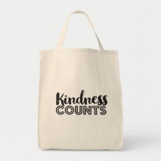 親切さはトートバックを数えます トートバッグ