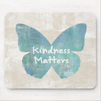 親切さは蝶重要です マウスパッド