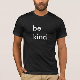 親切で黒いTシャツがあって下さい Tシャツ