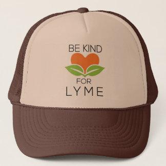 親切なトラック運転手の帽子- Lymeの認識度--があって下さい キャップ