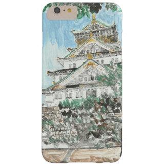 親切な大阪城のiPhoneの例の1つ Barely There iPhone 6 Plus ケース
