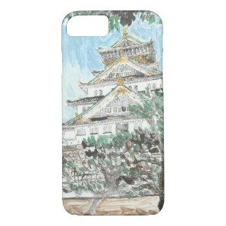 親切な大阪城のiPhoneの例の1つ iPhone 8/7ケース
