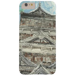親切な広島の城のiPhoneの例の1つ Barely There iPhone 6 Plus ケース