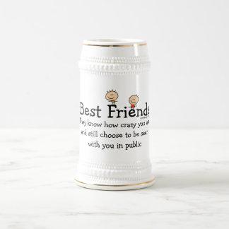 親友のおもしろいなことわざ ビールジョッキ