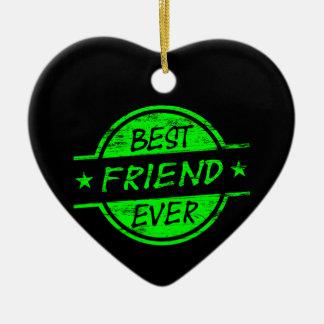親友の緑 セラミックオーナメント