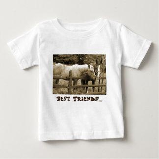 親友 ベビーTシャツ