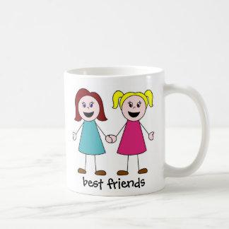 親友、親友 コーヒーマグカップ