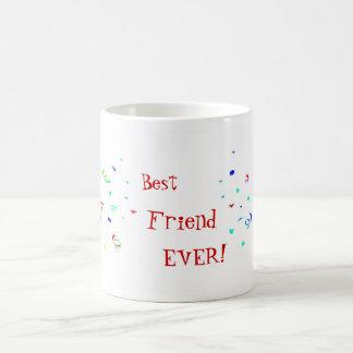 親友BFFの紙吹雪のマグ コーヒーマグカップ
