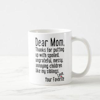 親愛なるお母さん[兄弟姉妹版] コーヒーマグカップ