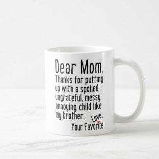 親愛なるお母さん[兄弟版] コーヒーマグカップ