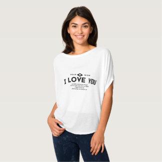 親愛なるお母さん、私は愛します Tシャツ
