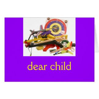 親愛なる子供 カード