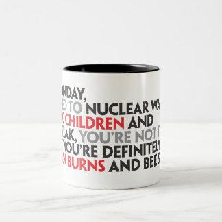 親愛なる月曜日Mug ツートーンマグカップ
