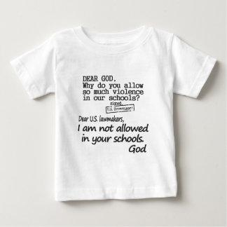 親愛なる神 ベビーTシャツ