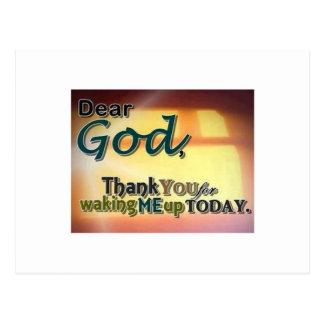 親愛なる神 ポストカード