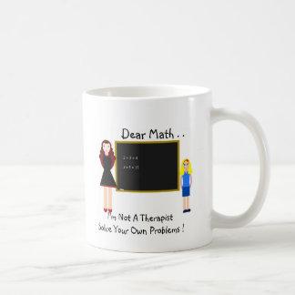 親愛なるMath。 コーヒーマグカップ
