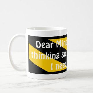 親愛なるMind コーヒーマグカップ