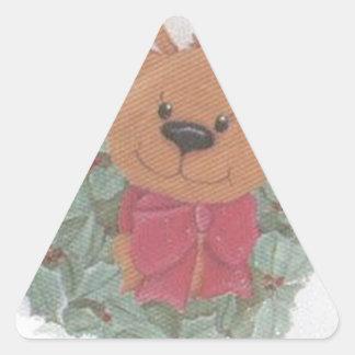 親愛なクリスマス 三角形シール