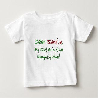 親愛なサンタ ベビーTシャツ