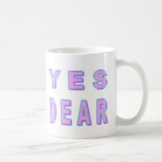 親愛なYES コーヒーマグカップ