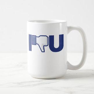 親指のおもしろマグカップを好まないで下さい コーヒーマグカップ