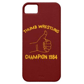 親指のレスリングのチャンピオン1984年 iPhone SE/5/5s ケース