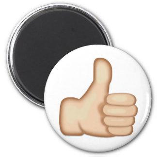 親指は印Emojiを持ち上げます マグネット