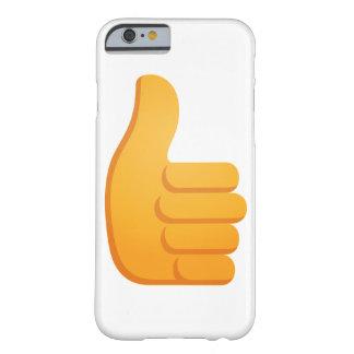 親指はEmojiを持ち上げます Barely There iPhone 6 ケース