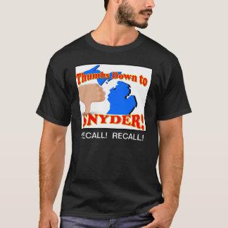 親指リックSnyderに Tシャツ