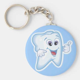 親指歯科衛生学のために! キーホルダー
