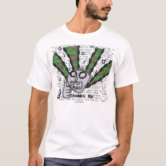 親指音楽のために Tシャツ