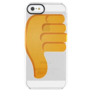 親指Emoji クリア iPhone SE/5/5sケース