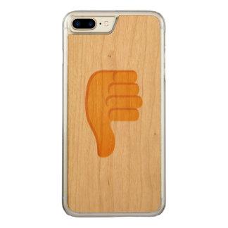 親指Emoji Carved iPhone 8 Plus/7 Plus ケース