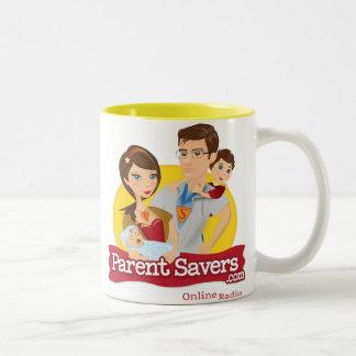親救済者のマグ ツートーンマグカップ