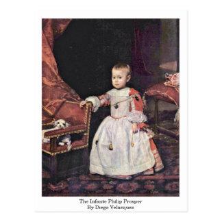 親王フィリップはディエゴベラスケスによって繁栄します ポストカード