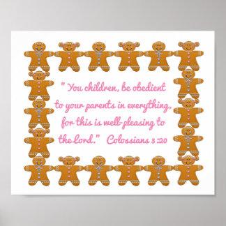 親Scripture~Gingerbreadに従順な子供 ポスター