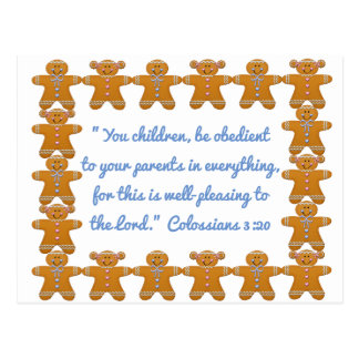 親Scripture~Gingerbreadに従順な子供 ポストカード